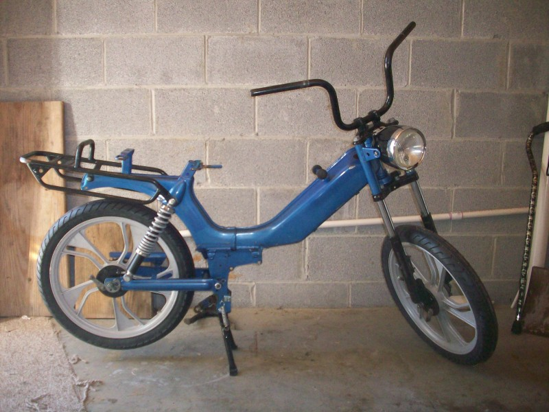 Stripped Down 1995 Tomos LX