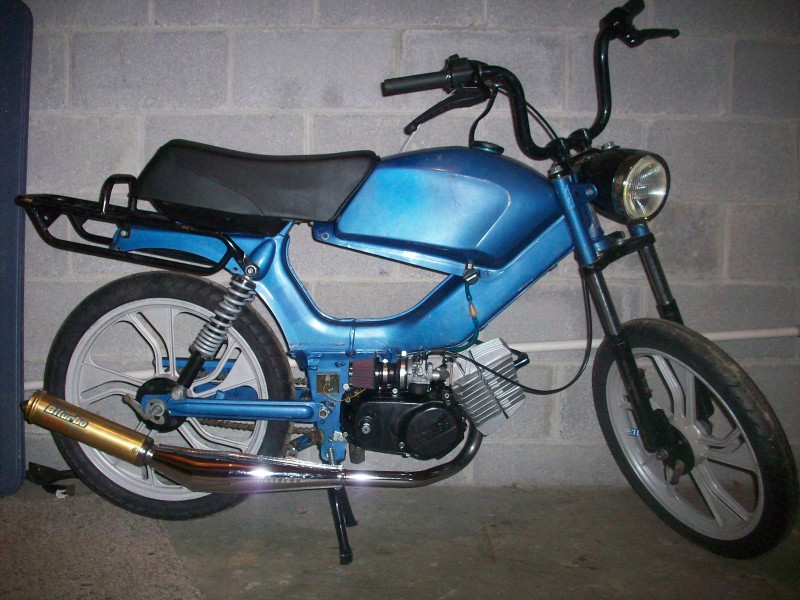 Tomos LX with new seat