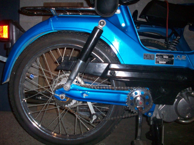 Rear end of Puch Maxi