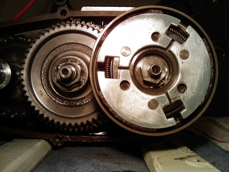 A35 Transmission with worn 1st gear clutch