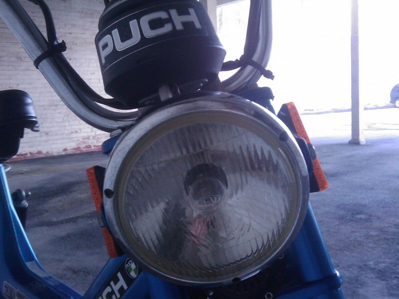 Puch Maxi Head Light and Speedometer Housing