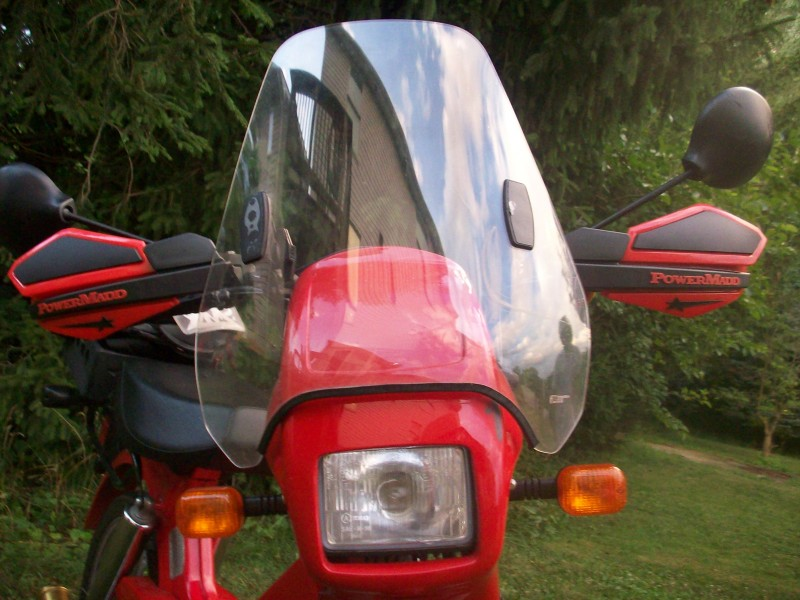 Tomos ST with Tron Windshield