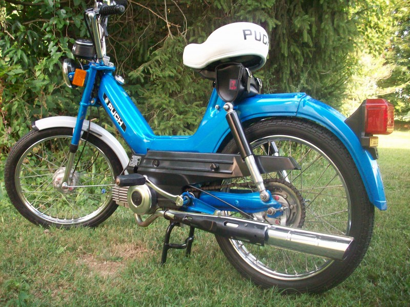 Puch with White Seat