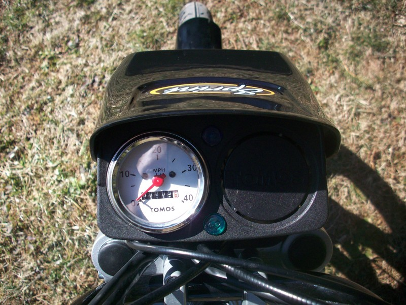 2009 Tomos Sprint Speedometer